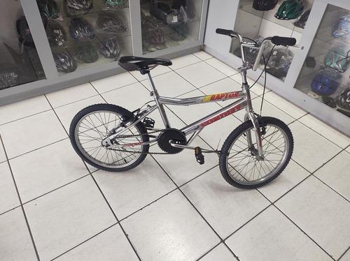 Bicicleta Aro 20 Tipo Cross Cromada Em Excelente Estado