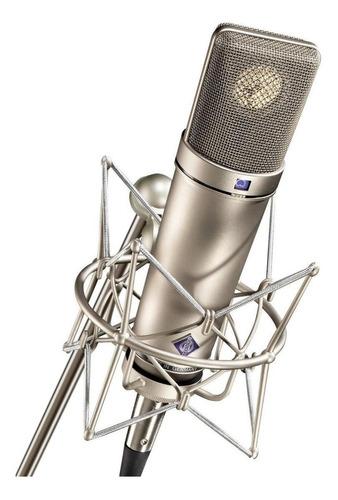 Microfone Neumann U 87 Ai Studio Set Condensador  Multi-padrão Níquel