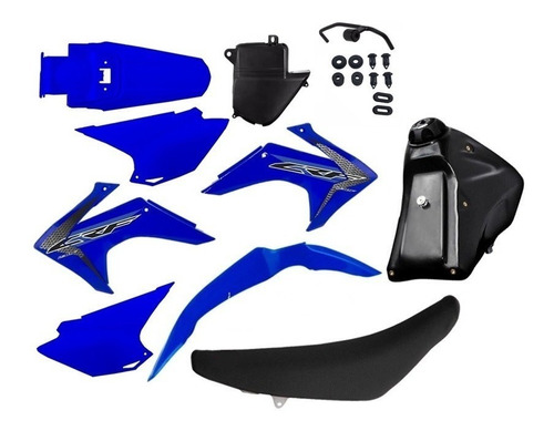 Kit Plastico Roupa Crf 230 Adaptável Bros Xr200 Tornado Xtz