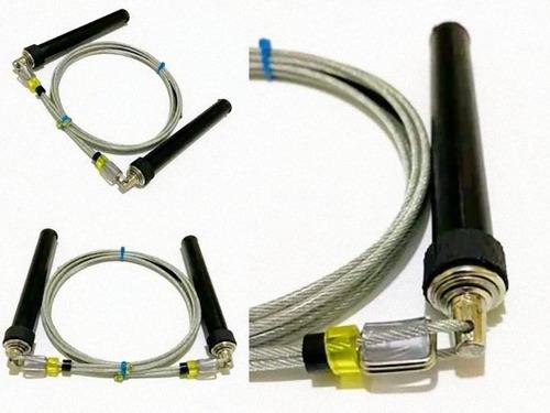 Corda De Pular Crossfit Octopus D15 Alumínio Com Rolamento.