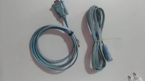 Cabo Console Cisco Azul Db9 X Rj45.1, 2 Pçs