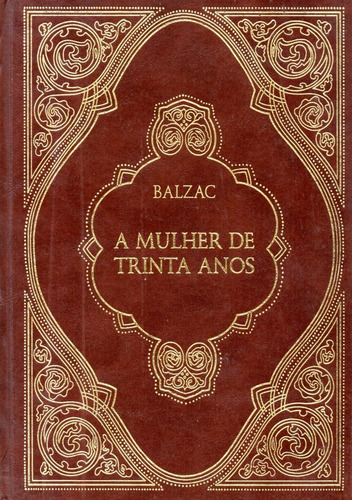 Livro A Mulher De Trinta Anos (balzac)