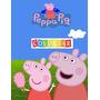 Peppa Pig Colorear: Gran Libro Pará Colorear Para Nios De 4