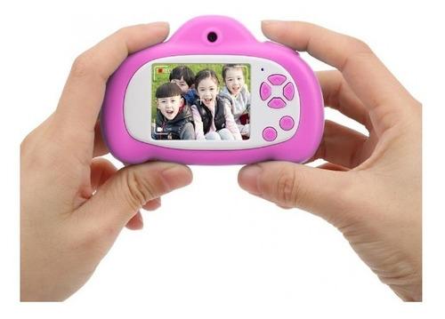 Mini Câmera Digital Filmadora Infantil Animação Com Flash Nf
