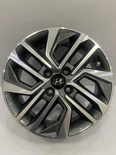 Jogo De Rodas Aro 15 Hyundai Hb20 Novo 2020 4x100 Kr Top
