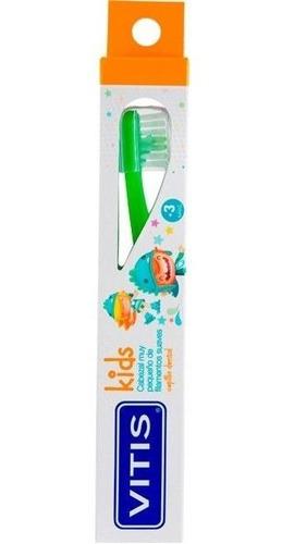 Cepillo Dental Vitis Kids +3años