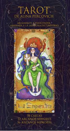 Mazo De Tarot De La Artista Visual Alina  Percovich
