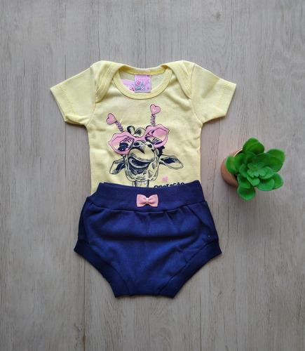 Roupinha Bebê Blogueirinha Body Macio Tipo Carters Verão