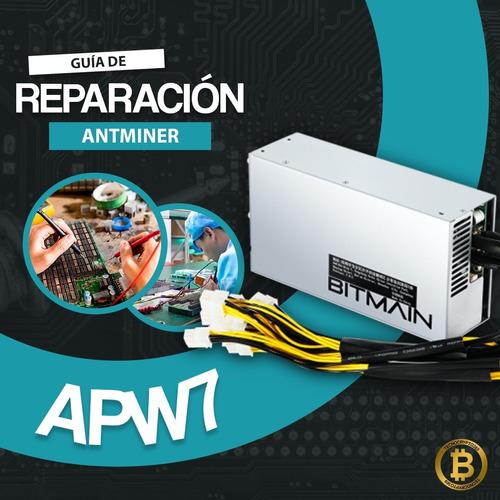 Manual De Reparación (español) Fuente Antminer Apw7