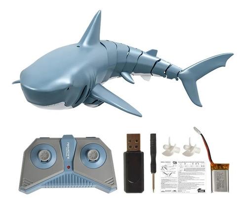 Mini Rc Tubarão De Controle Remoto Brinquedo De Piscina
