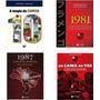 Coleção Flamengo A Magia Da Camisa 10 Kit 4 Livros