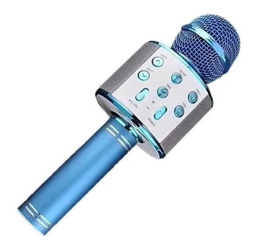 Microfone Bluetooth Sem Fio Para Youtuber Reporter Karaoke