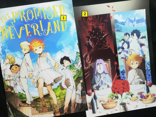 Posters A3 29x42cm Anime The Promised Neverland #1