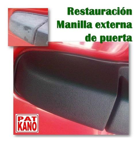 Restaurador De Plásticos Negros (100 Gr Sin P. Microfibra)