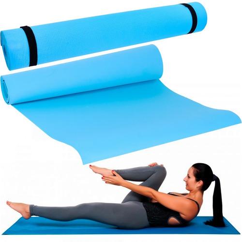 Tapete Yoga Pilates Antiderrapante Exercícios Casa Ginástica
