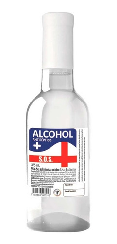 Alcohol Antiseptico Al 96%. Reg Invima - mL a $12