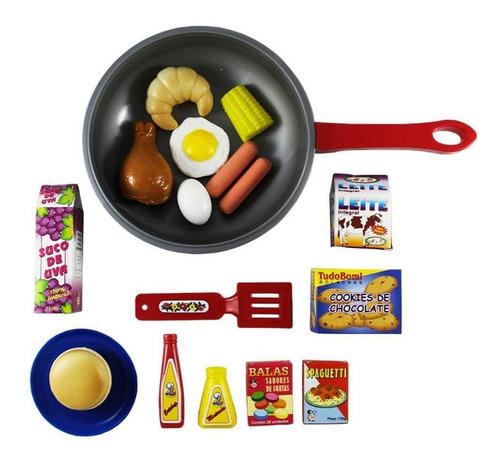 Frigideira Gourmet Infantil  Cozinha Infantil Presente