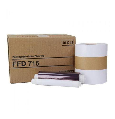 Papel Ffd 715 Para Impressora Mitisubishi D707dws / D70dws