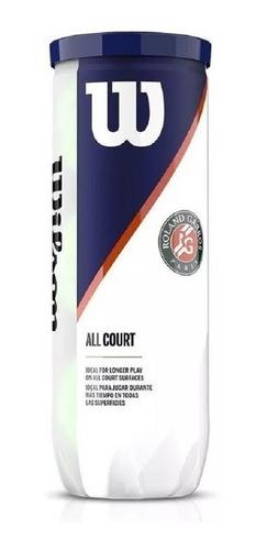 Tenis Center Pelotas Wilson  Roland Garros  Tubo X 3 20% Off