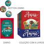 Box Anne De Green Gables 9 Livros (8vol Diáro Aventuras)