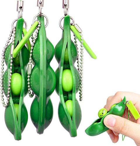Pop It Fidget Toy Ervilhas Feijão Anti Stress Sensorial Push