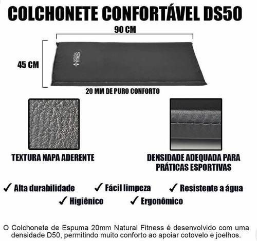 Colchonete D80 Natural Fitness ( Academia )