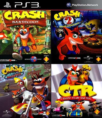 Crash Bandicoot Ps3 Digital Collection 4 En 1 Español