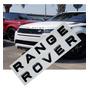 Emblema Letras Range Rover Evoque Sport Frente Ou Traseira