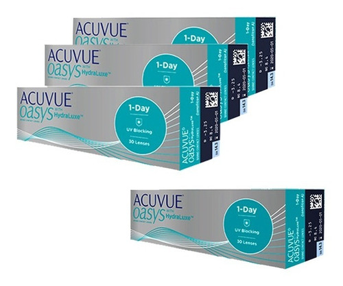 Lente  1 Day Acuvue Oasys Combo 3+1 Grátis