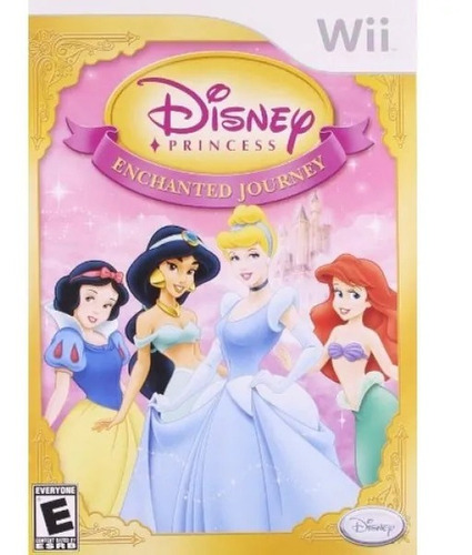 Disney Princess Enchanted Nintendo Wii Nuevo Gtia Vdgmrs