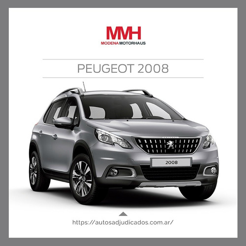 Peugeot 2008 Allure Adjudicado 100% 44c. Disfrute De Un 0km