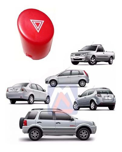 Lente Botão Pisca Do Alerta Original Ford Courier 2008