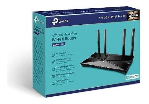 Tp-link Archer Ax1500 Ax10 - Wifi 6 - 802.11ax Gigabit Nfe