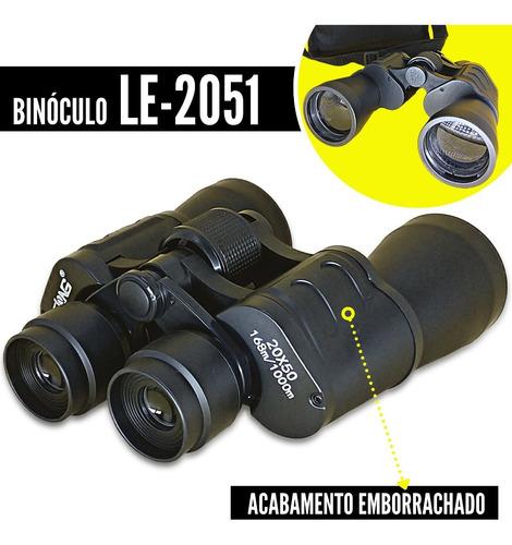 Binoculo Profissional Lelong 20x50 Longo Alcance Le 2051