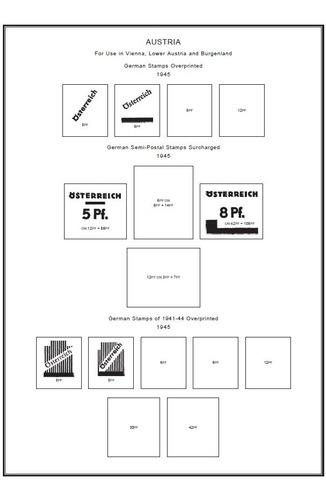 Filatelia Hojas De Álbum Para Imprimir Cd C/todos Los Países