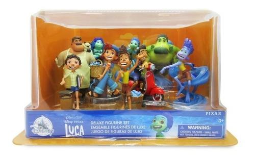 Disney Store Set 9 Figurines Deluxe Luca 2021