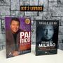 Livros Pai Rico Pai Pobre 20 Anos Do Mil Ao Milhão Kit