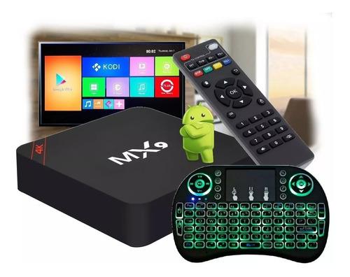 Conversor Smart 4k - Hd 128 Gb + 8g + Teclad Luminoso Brinde