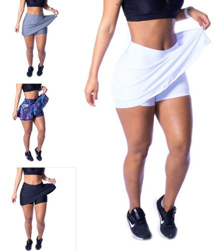 Short Saia Fitness Academia Bermuda Legging Suplex