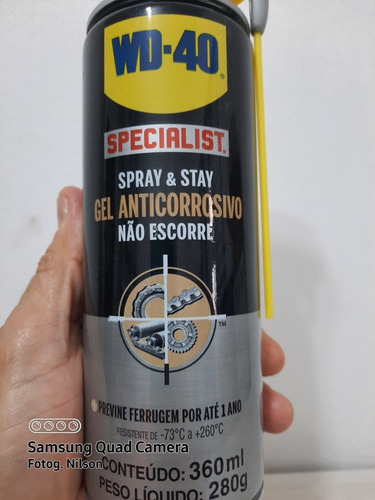 Wd Ezpecialist Spray Gel Anticorrosivo 360 Ml