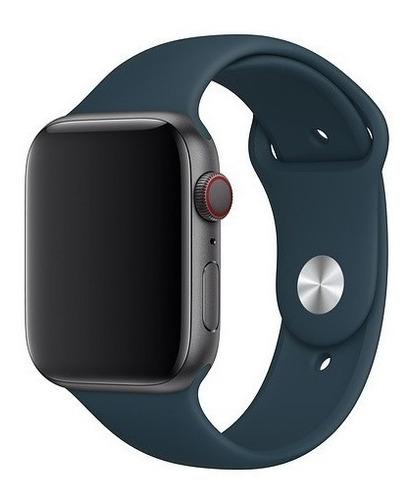 Pulseira Sport Para Apple Watch 38mm 40mm 42mm 44mm