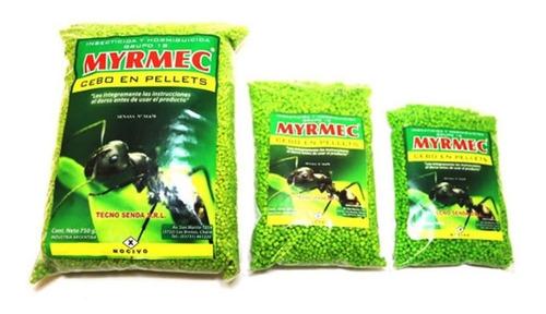Hormiguicida Myrmec Cebo Granulado Mata Hormigas Mirex 750gr