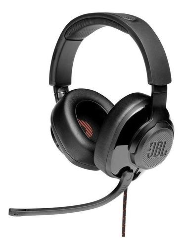 Headset Gamer Jbl Quantum 300 Microfone Flip-up