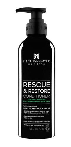 Acondicionador Martha Debayle Rescue & Restore 450 Ml