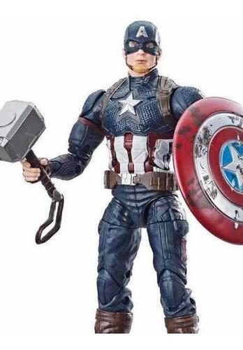 Capitán America Endgame Marvel Legends Exclusivo Walmart