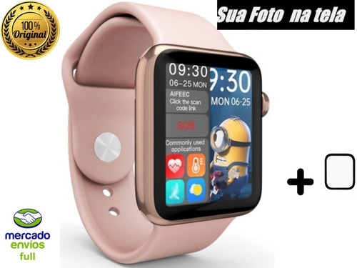 Smartwatch Relogio Pulso Hw16 Lançamento 44mm Monitor Oferta