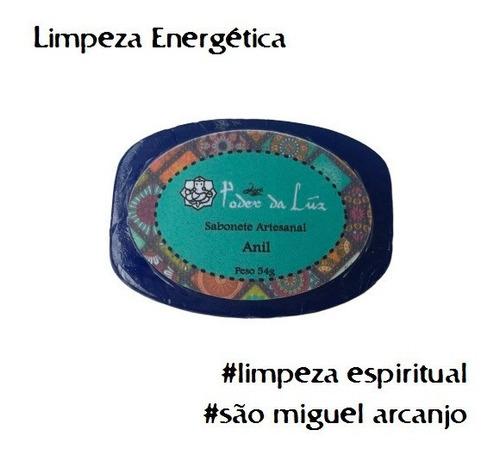Sabonete De Anil Limpeza Espiritual Poder Da Luz (54 G)