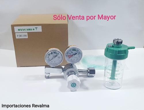 Manómetro Regulador De Oxígeno Medicinal Venta Por Mayor