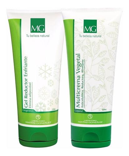 Gel Reductor+ Crema Afirmante Anticelulitica Matías González