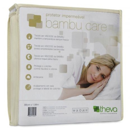 Protetor Para Colchão Bambu Care Copespuma Casal